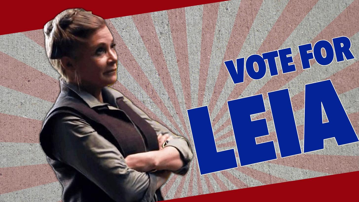 Vote Leia this election season