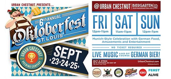 Urban Chestnut Zwickel Radlers to Debut at Oktoberfest