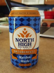 North High Brewing Co. Oktoberfest