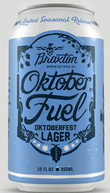 Braxton October Fuel Oktoberfest Lager