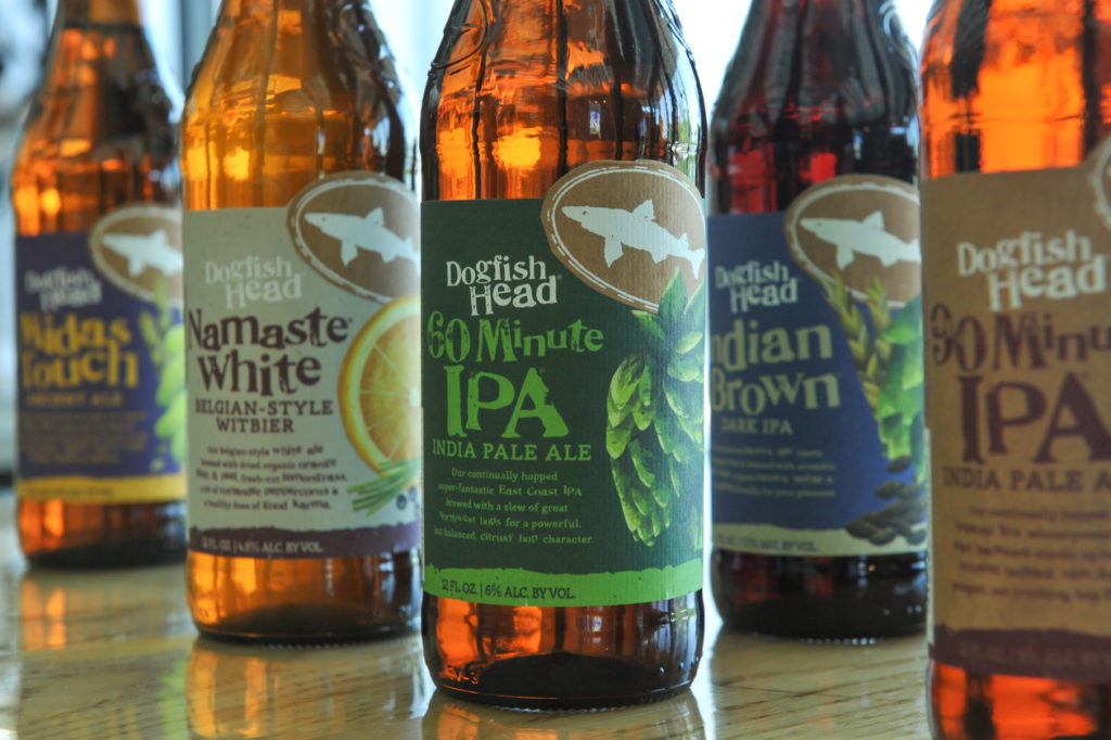 Dogfish Head Labels