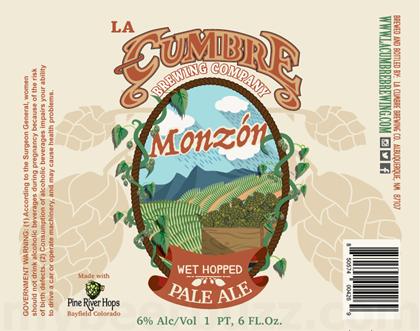 La Cumbre Monzón Wet Hopped Pale Ale