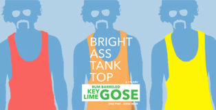 Bright Ass Tank Top Key Lime Barrel Aged Gose