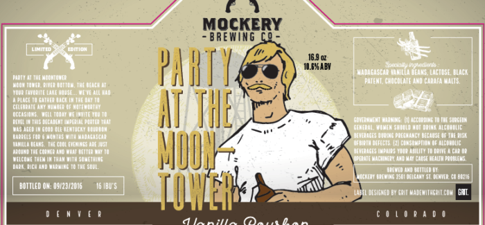 Mockery Brewing | Party at the Moontower