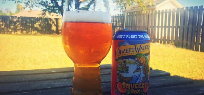 SweetWater Brewing Company | Squeeze Box IPA