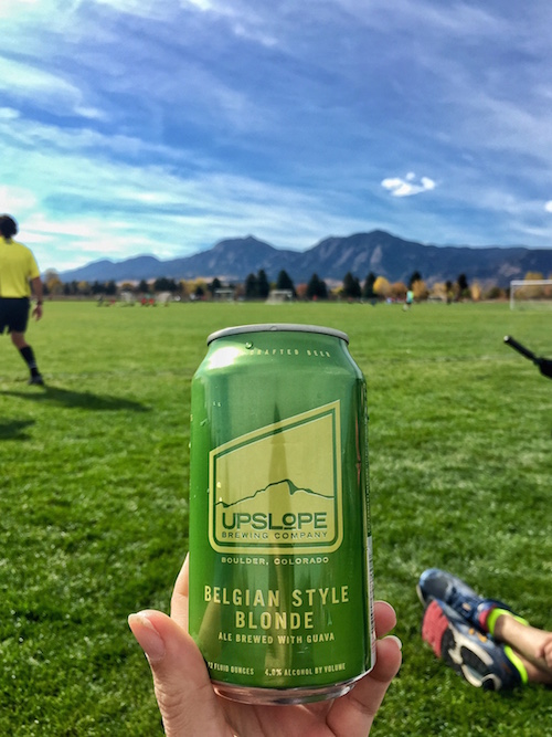 """On Sundays, I drink Upslope beers with guava."" - K.C. Cunilio"