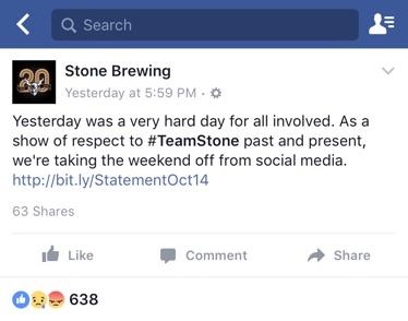 stone facebook post