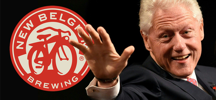 Former U.S. President Bill Clinton to Speak at New Belgium Brewing