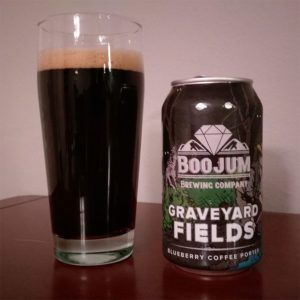 Boojum Brewing Co. Graveyard Blueberry Coffee Porter