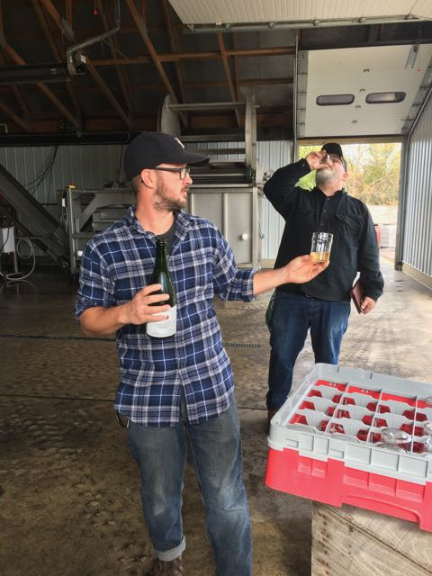 Head Cidermaker Seth Boeve talks about the process in which Virtue receives apples from farmers.
