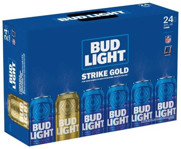 Bud Light STrike Gold