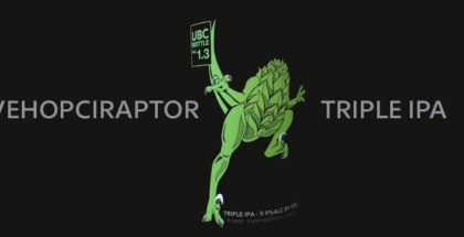 The Unknown Brewing Co. Vehopciraptor Triple IPA