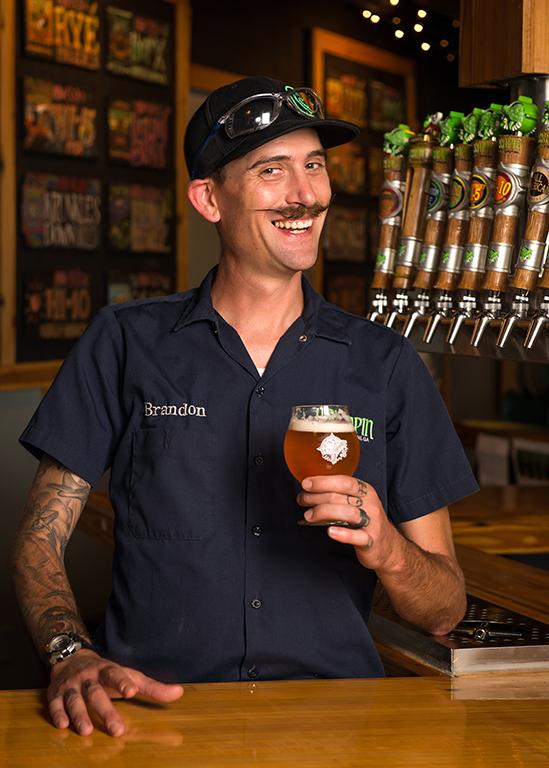 Terrapin Beer Co. Head Brewer Brandon Stull