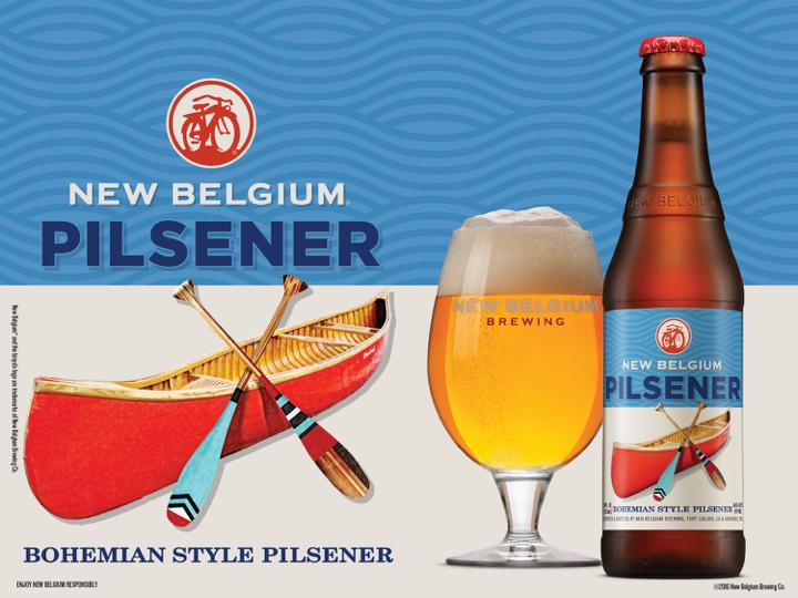 New Belgium Bohemian Pilsner