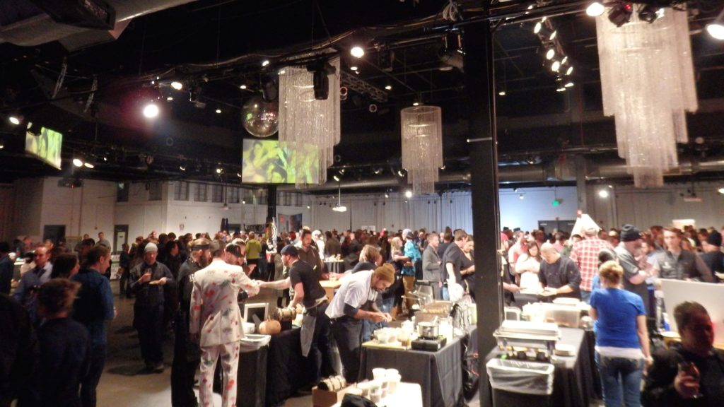 Hundreds gathered at the EXDO event center for the 5th annual Chef & Brew