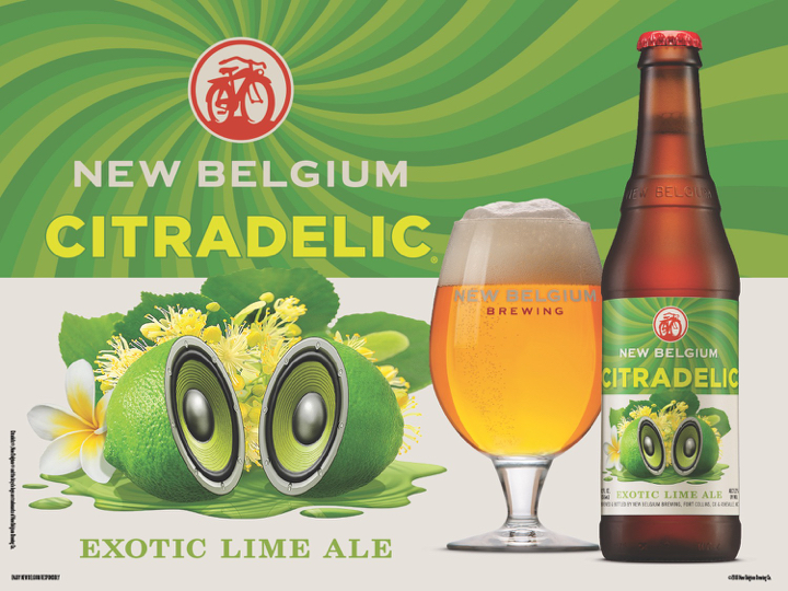 New Belgium Citradelic Lime