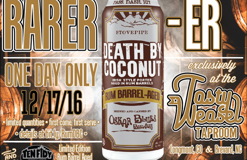 Rum Barrel-Aged Death by Coconut Oskar Blues