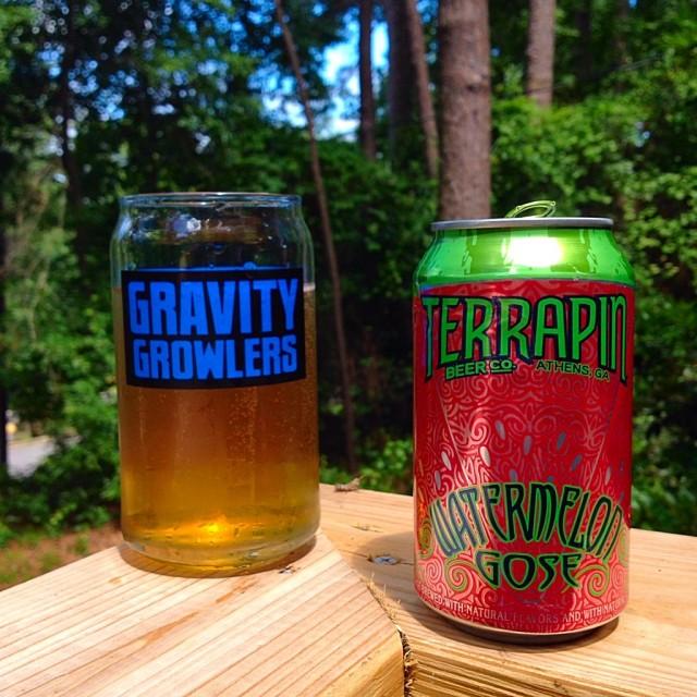 Gravity Growlers Terrapin Beer Co. Watermelon Gose