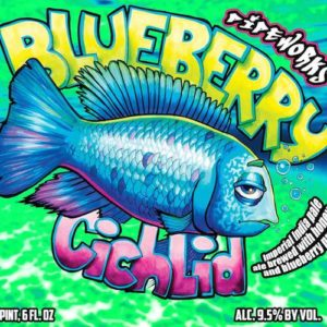 Blueberry Cichlid Pipeworks Brewing Chicago