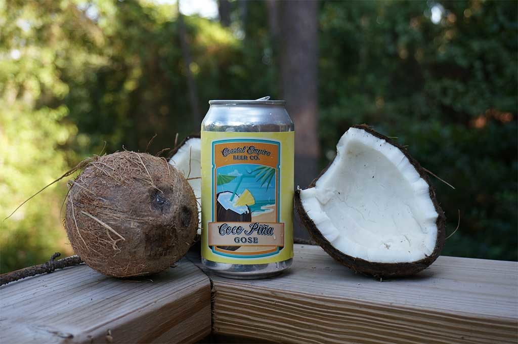 Coastal Empire Beer Co. Coco Pina Gose