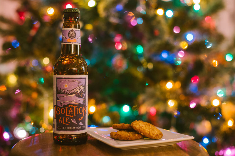 Christmas Cookie and Beer Pairing Persika Photography