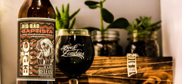 Epic Brewing Company | Big Bad Baptista