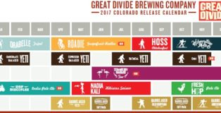 Great Divide Brewing Co. 2017 Colorado Release Calendar 700-x-325