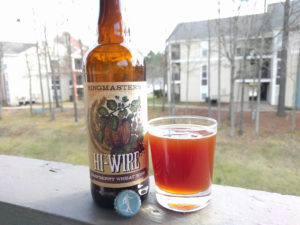 Hi Wire Hi-Wire Raspberry Wheat Wine