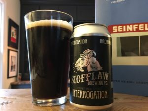 Scofflaw Brewing Co. Interrogation Coffee Milk Stout