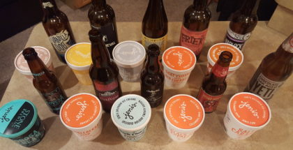 Jeni's Ice Cream and Beer Pairing Overhead