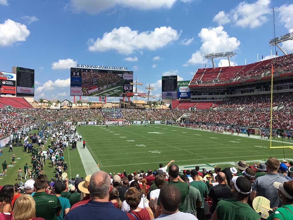 Raymond James Football Stadium Tampa Bay Buccaneers University of Southern Florida