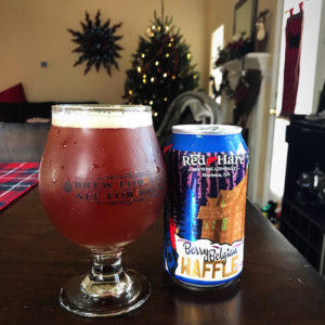 red hare brewing berry belgian waffle