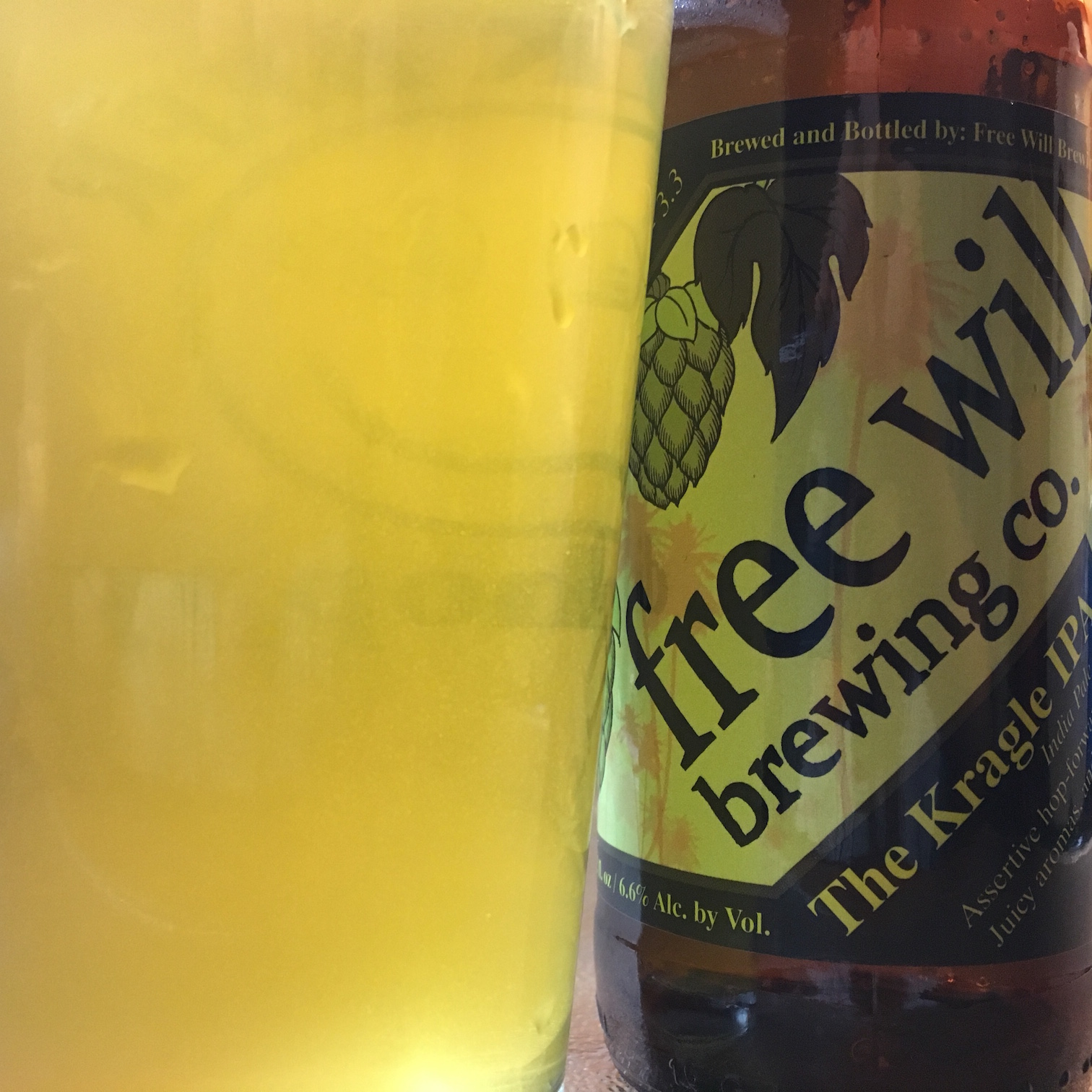 The Kragle IPA - Free Will Brewing Co.