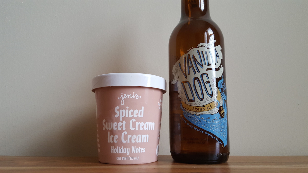 Abita Vanilla Dog Jeni's Ice Cream Pairing