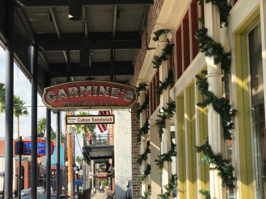 Carmine's Restaurant and Bar Tampa Florida