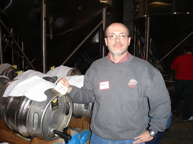 Owen Ogletree, director and head judge of the Atlanta Cask Ale Tasting (Image courtesy of Brewtopia LLC)