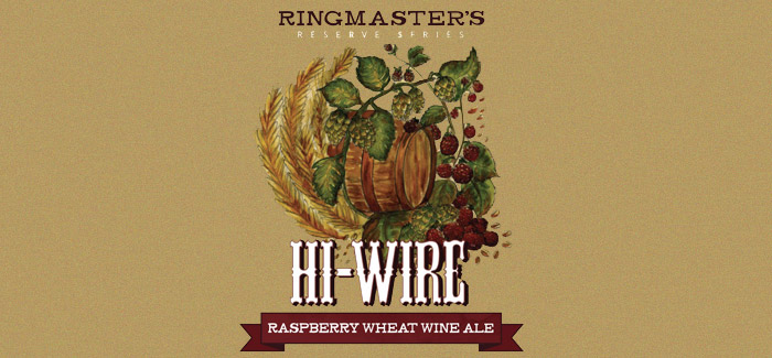 hi wire raspberry wheat wine