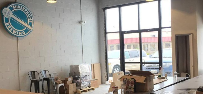 Mikerphone Brewing's Upcoming Taproom
