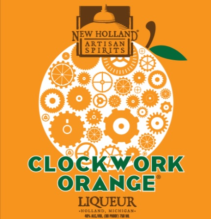 new holland - clockwork orange liqueur