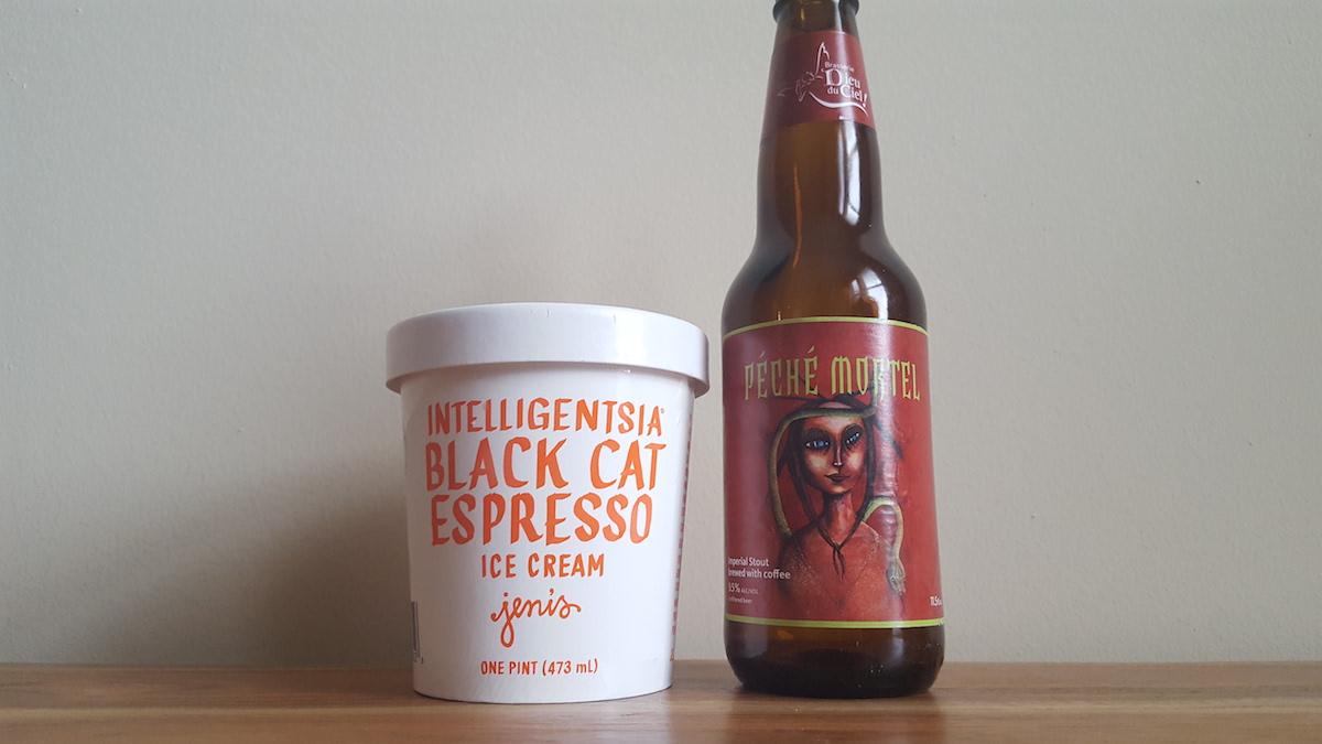 Dieu du Ciel Peche Mortel Jeni's Intelligensia Black Cat Espresso Pairing