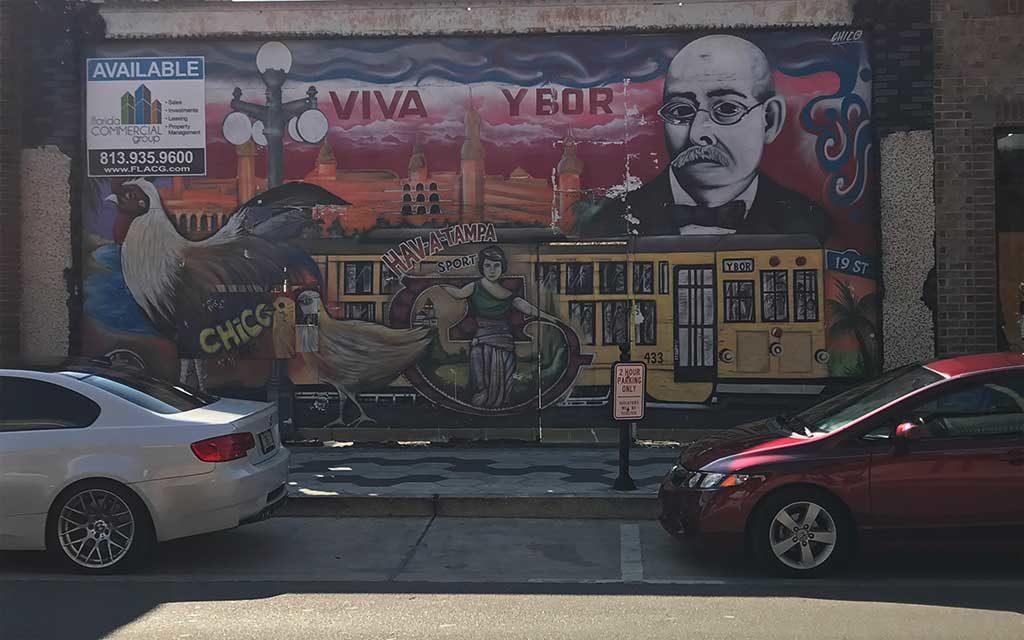ybor city mural tampa florida
