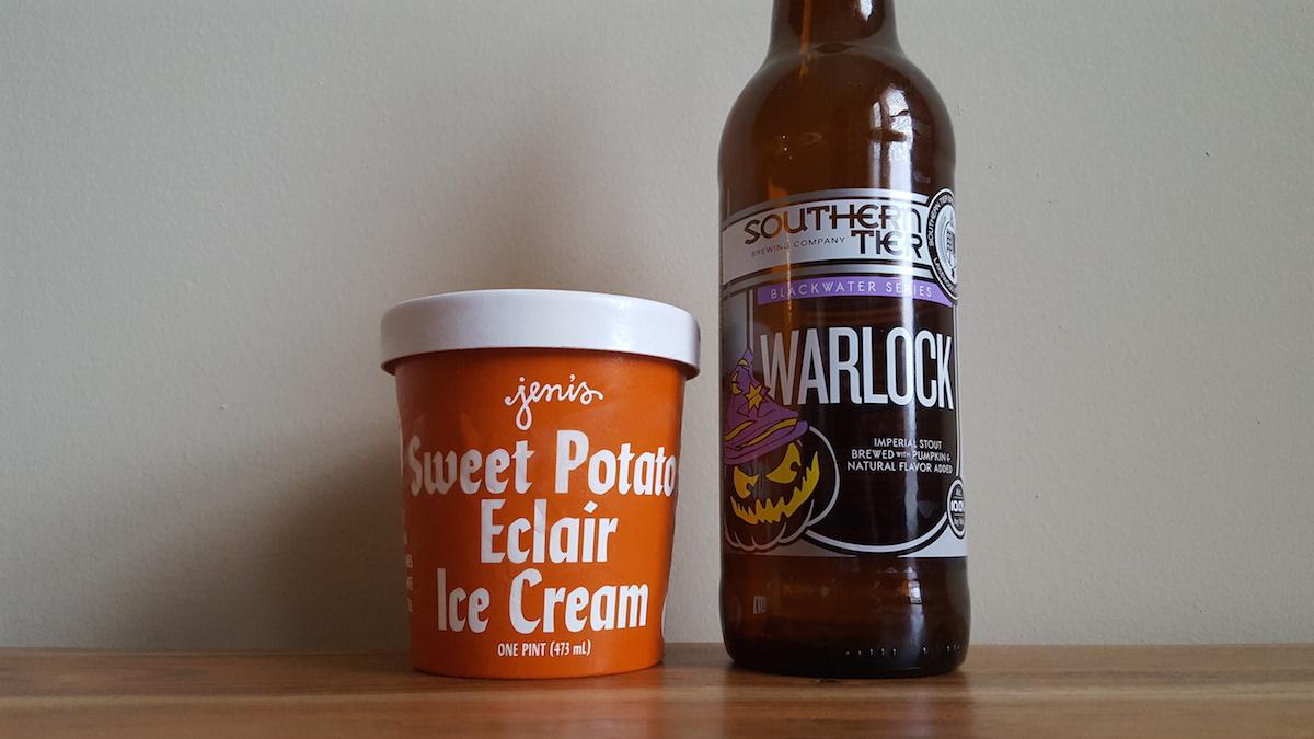 Southern Tier Warlock Jeni's Ice Cream Pairing