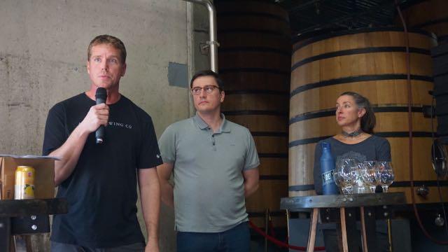 Andy Parker, Avery Brewing, Lauren Salazar, New Belgium Brewing, Gert Christaens, Oud Beersel