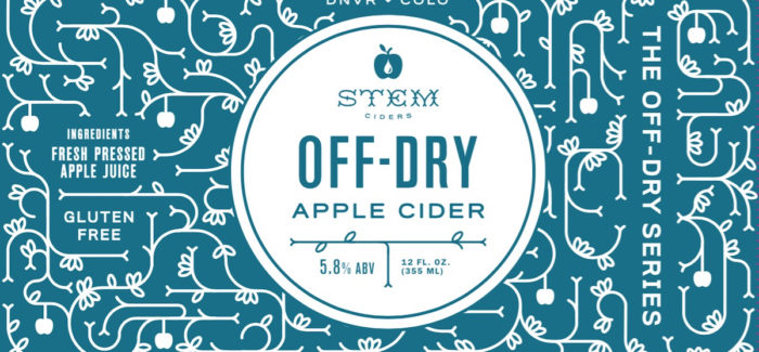 Stem Ciders | Off-Dry Apple Cider