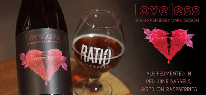 Ratio Beerworks | Loveless Raspberry Dark Sour Saison