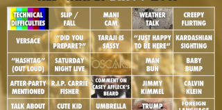 Oscars 2017 | Red Carpet Oscars Bingo Cards