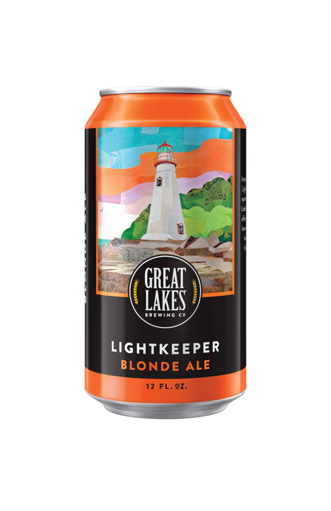Great Lakes Brewing Lightkeeper Blonde Cans
