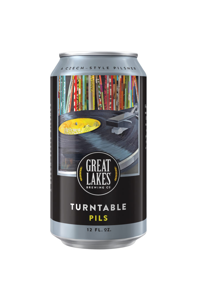 Great Lakes Brewing Turntable Pils Cans