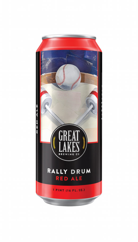 Great Lakes Brewing Rally Drum Red Cans