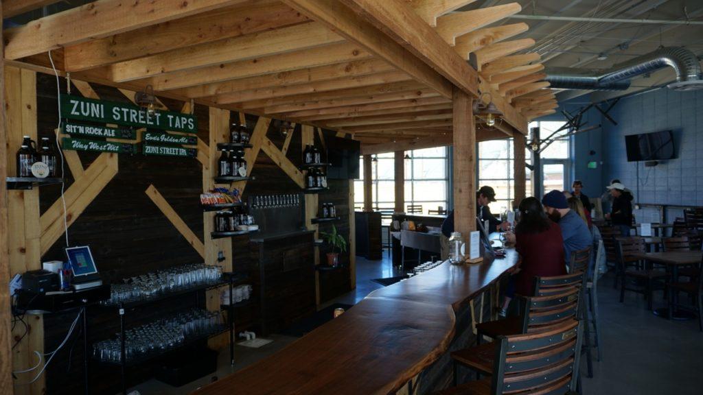 Zuni Street Brewery Bar